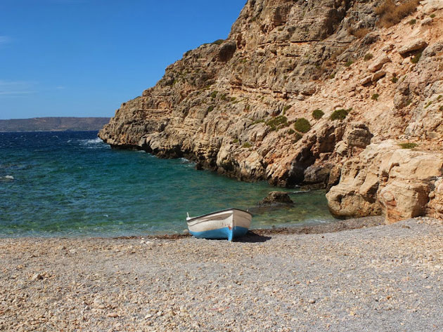 scorpion bay crete