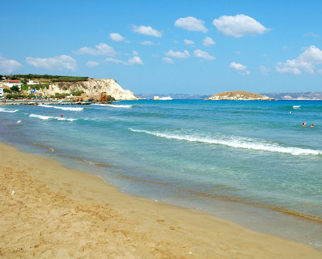 almirida beach crete