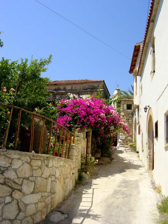 gavalohori village crete